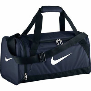 Nike Brasilia 6 Duffel Bag Extra Small NEW AUTHENTIC Navy BA4832-401 ... 1cb8f16968980