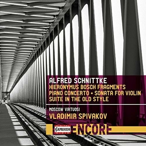 Hyronimus Bosch Fragments - Schnittke / Spivakov / Ghindin (2017, CD NEU)