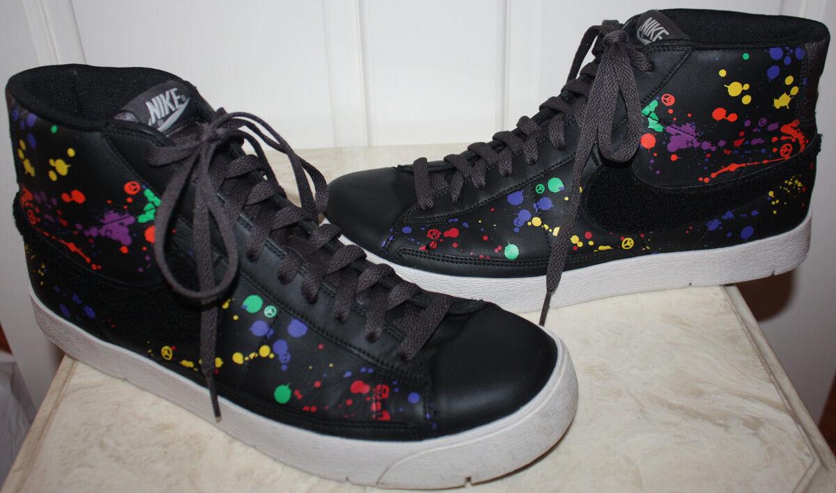 Uomo nike nero 11 scarpe da ginnastica taglia 11 nero d11e75