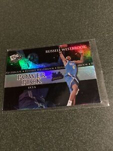 2008 Press Pass Russell Westbrook holo power pick $1 Shipping