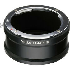 Vello Nikon F Mount Lens to Sony NEX Camera Adapter
