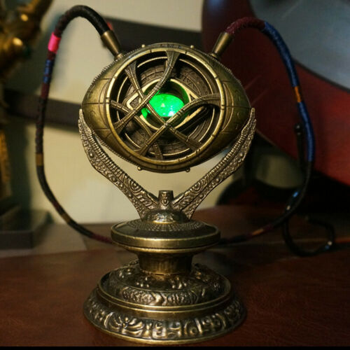 Doctor Strange 1:1 Eye Of Agamotto With Stand  Full Metal Led Light Collection
