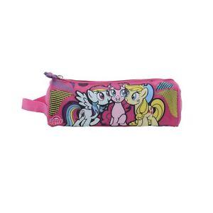 My Little Pony MLP Best Friends Pink Barrel Pencil Case Kids School Stationery