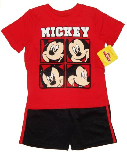 MICKEY MOUSE DISNEY T-Shirt /& Shorts Outfit Clothing Set Toddler/'s Size 3T  $25