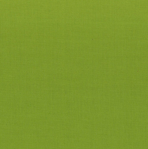 """Green Sheen Painters Palette Plain Fabric for Dolls House Projects 10/"""" sq"""