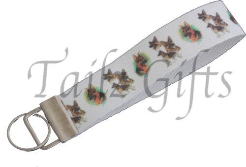 German Shepherd Breed of Dog MatchingKeyring Key RingBookmark