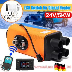5000W24V-Diesel-Auto-Heizung-Standheizung-Luftheizung-Air-Heater-LCD-PKW-LKW-DE