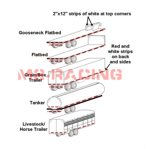 de sécurité avertissement véhicules récréatifs Jaune Or DOT-C2 à Grande Visibilité Réfléchissant Ruban Adhésif Bande de 1 ft environ 0.30 m