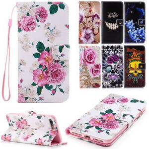 Patterned-PU-Leather-Phone-Case-Flip-Stand-Cover-For-Apple-iPhone-6S-Plus-6-Plus