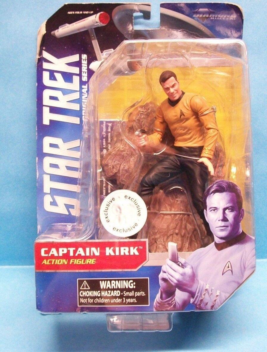 2013 Diamond Select Star Trek Original Series CAPTAIN KIRK Action Figure
