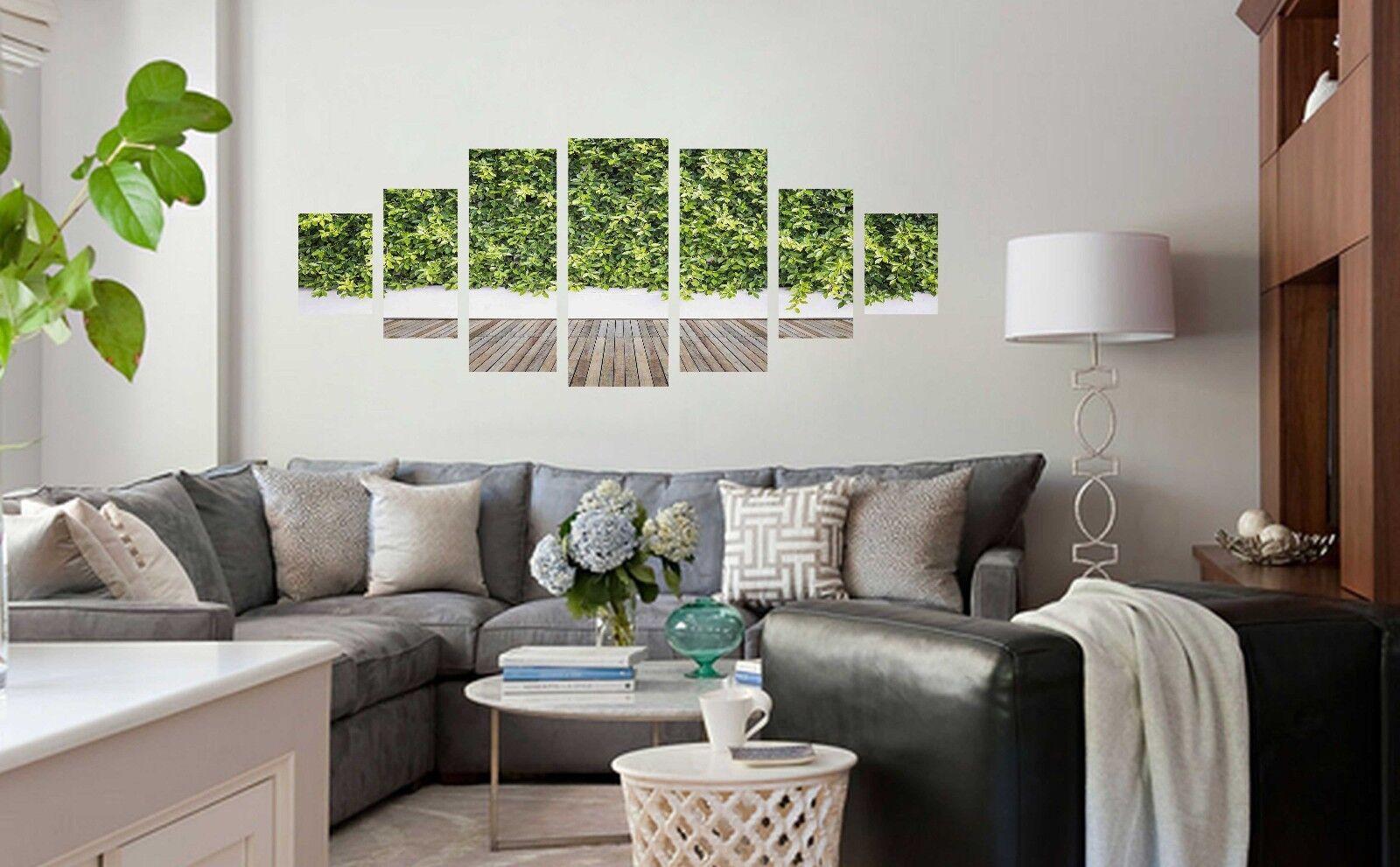 Planta de hierba 3D 83 impresión sin enmarcar Papel de Parojo Calcomanía Decoración De Parojo Parojo Interior AJ Jenny