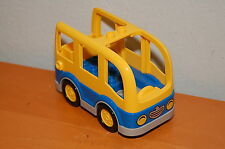 Collectible LEGO DUPLO Yellow and Blue City School Bus