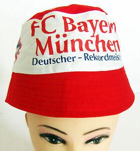 FC-Bayern-Muenchen-Fischerhut-Sonnenhut-Hut-Muetze-NEU-Top-Angebot