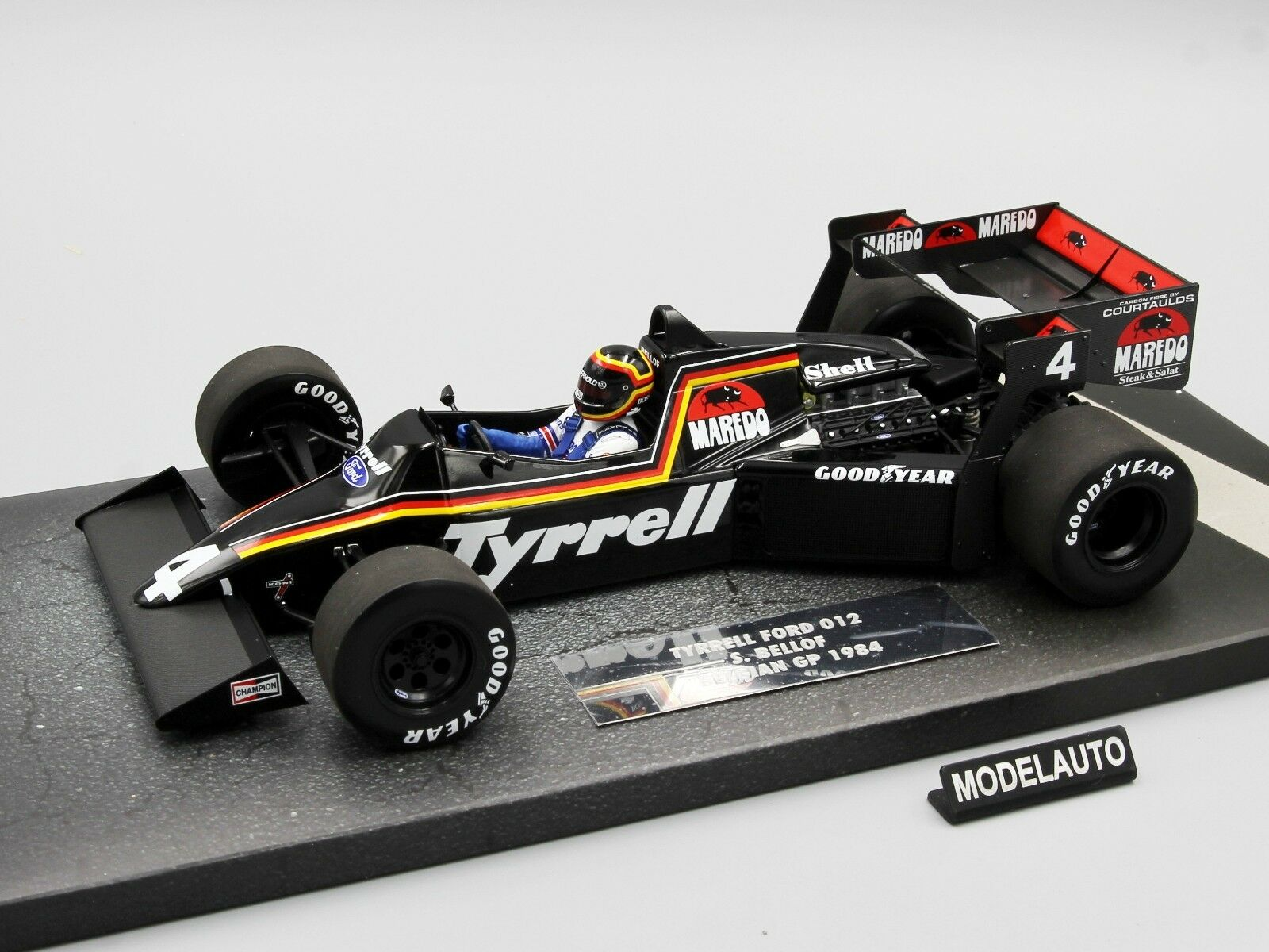 offerta speciale Minichamps 1 18 Tyrell Ford 012 012 012  Stefan Bellof Belgian GP 1984  comprare a buon mercato