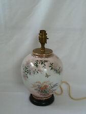 Vintage Ceramic Oriental Style Table Desk Lamp Light