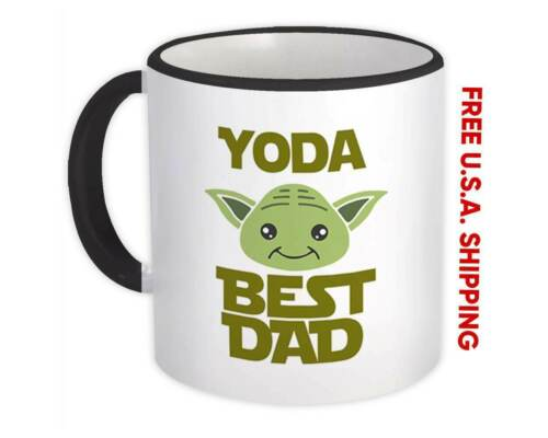 Yoda Best Dad Ever Gift Mug You Are Father Family Christmas