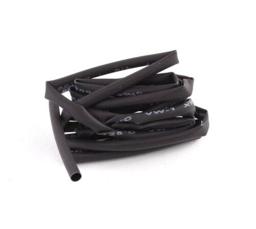 "4/' Feet BLACK 1//8/"" 3mm Polyolefin 2:1 Heat Shrink Tubing Tube Cable US UL 4 FT"