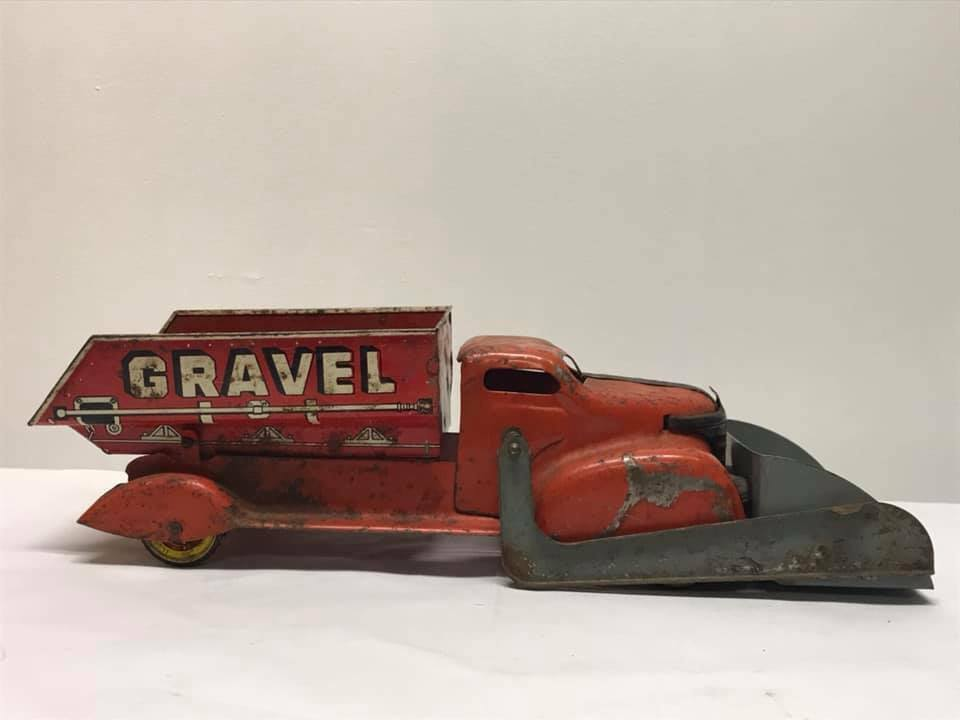 Jahrgang 1940's Marx Sand and Gravel Truck