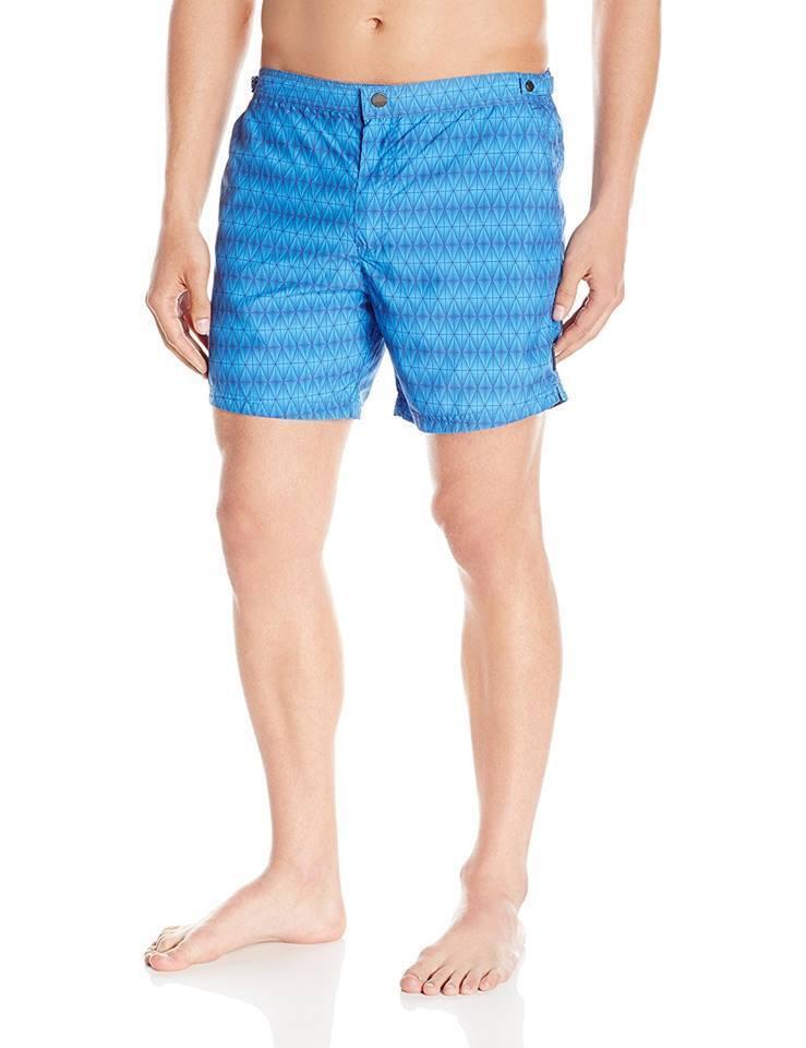 HUGO BOSS Men's bluee Tigerfish Swim Short size XL