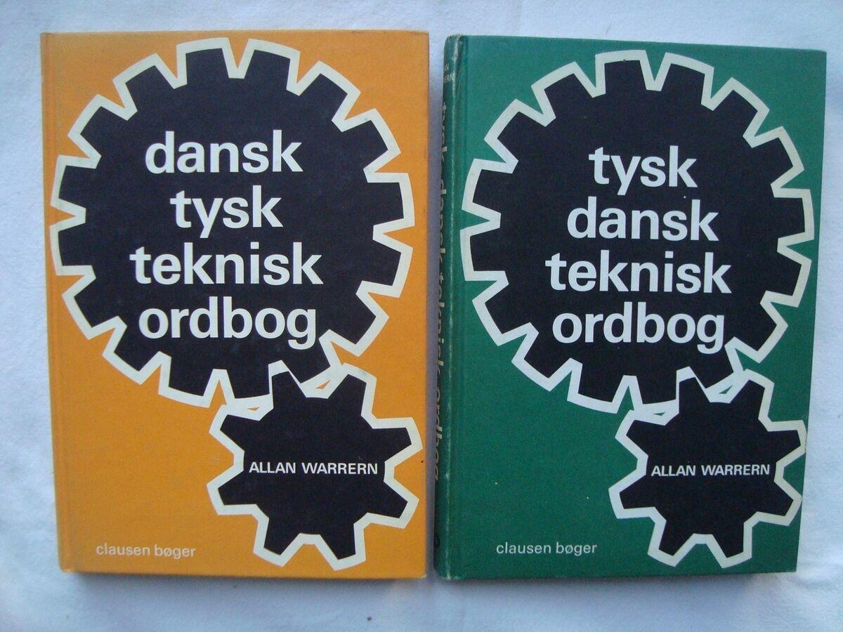 tysk dansk teknisk ordbog