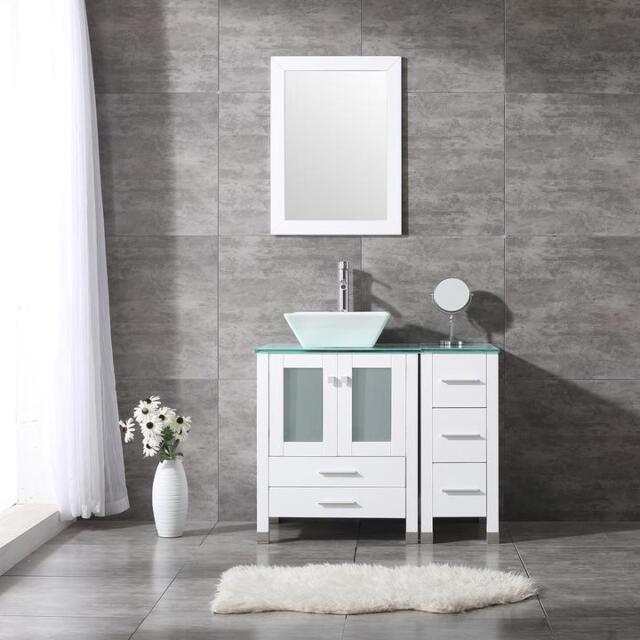 Vinnova Gela 36 Single Vanity Set With
