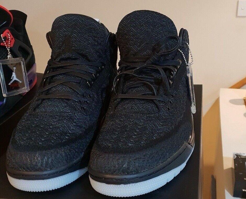 Nike Air Jordan 3 Retro Flyknit Negro US13 brillan en la oscuridad US13 Negro dswt 4eeeb2