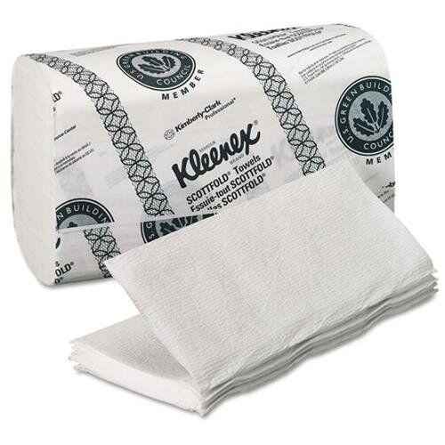 Kleenex scottfold toalla de papel - 120 hojas paquete - 3000 Cartón - 8.10  X 12.40