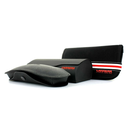 Carrera Sunglasses 8032//S 003 W3 Matte Black Red Mirror