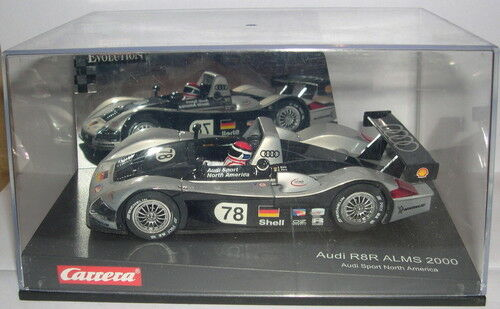 CARRERA EVOLUTION 25435 SLOT CAR AUDI R8 ALMS 2000 F.CONNECTING ROD-E.PIRRO
