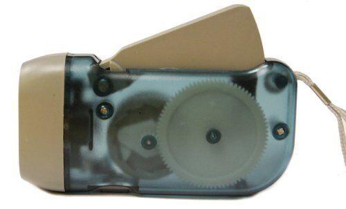New 3 LED Dynamo Crank Wind Survival Emergency Flashlight #FL5052LL