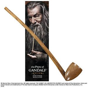 The-Hobbit-Gandalf-039-s-Pipe-Noble-Collection-Working-Replica-Lord-of-the-Rings