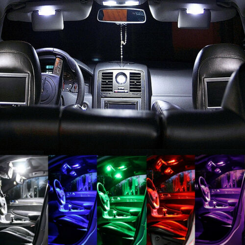 Renault ZOE white red blue green pink # Interior Lights Package Kit 8 LED