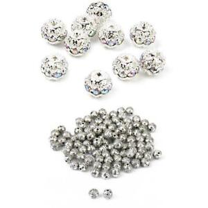 50pcs 6 mm round Or Sculpté Métal Loose Spacer Beads For Jewelry Making