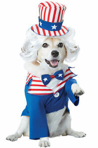 0a3dabff737 Uncle Sam 4th Of July USA America Patriotic Pet Dog Costume Jacket ...