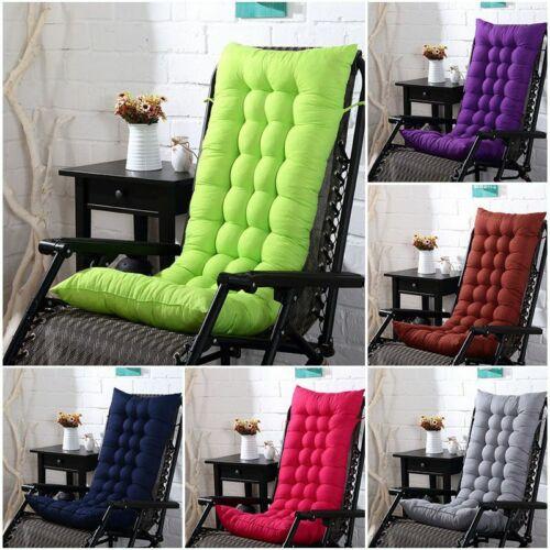 Highback Garden Chair Cushion Pad Outdoor Furniture HighBack Patio Seat Cushion