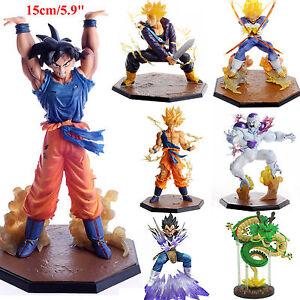 Anime-Drago-Ball-Z-DBZ-SUPER-SAIYAN-FIGLIO-GOKU-VEGETA-PVC-STATUETTA-COLLEZIONE