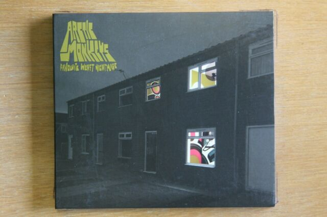 Arctic Monkeys  ‎– Favourite Worst Nightmare     (Box C674)