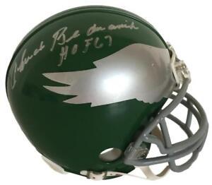 054cef0ae77 Image is loading Chuck-Bednarik-Signed -Philadelphia-Eagles-Throwback-Mini-Helmet-