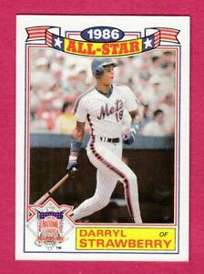 1987 Topps ALL-STAR #8 Darryl Strawberry -- New York Mets