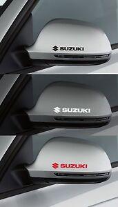 FOR SUZUKI  -  2 x Wing Mirror  -  CAR DECAL STICKER ADHESIVE SWIFT - 95mm long