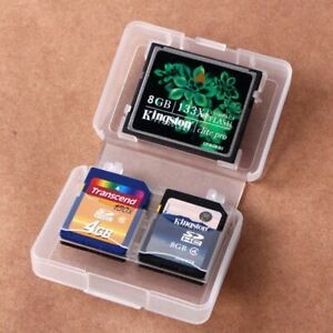 Portable-CF-Storage-Protecter-Box-Card-Case-Memory-Card-Holder-Plastic