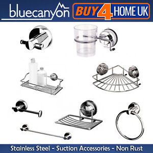 Blue-Canyon-Stainless-Steel-Gecko-Suction-Bathroom-Accessories-No-Rusting