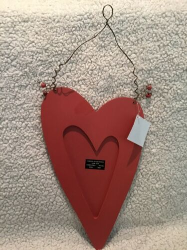 """7.75/"""" x 13.5/"""" Details about  /NEW Happy Valentine/'s Day 3D Heart Hanging Sign Decor Sparkling"""
