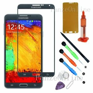 Replacement-Front-Screen-Glass-Lens-For-Samsung-Galaxy-Note-3-Tools-Kit-UV-Glue