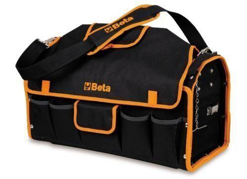 BETA TOOLS HEAVY DUTY FABRIC TOOL BAG / BOX C10 LARGE 520mm LONG