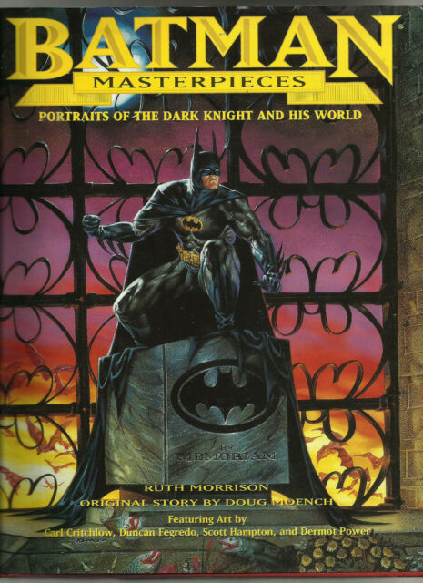 BATMAN MASTERPIECES: PORTRAITS OF THE DARK KNIGHT AND HIS WORLD (1998) HARDBACK