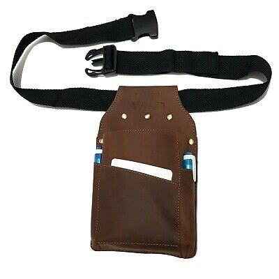 Suede Belt Bag Waiter Pocket kellnerholster Belt Waiter Holster Bag
