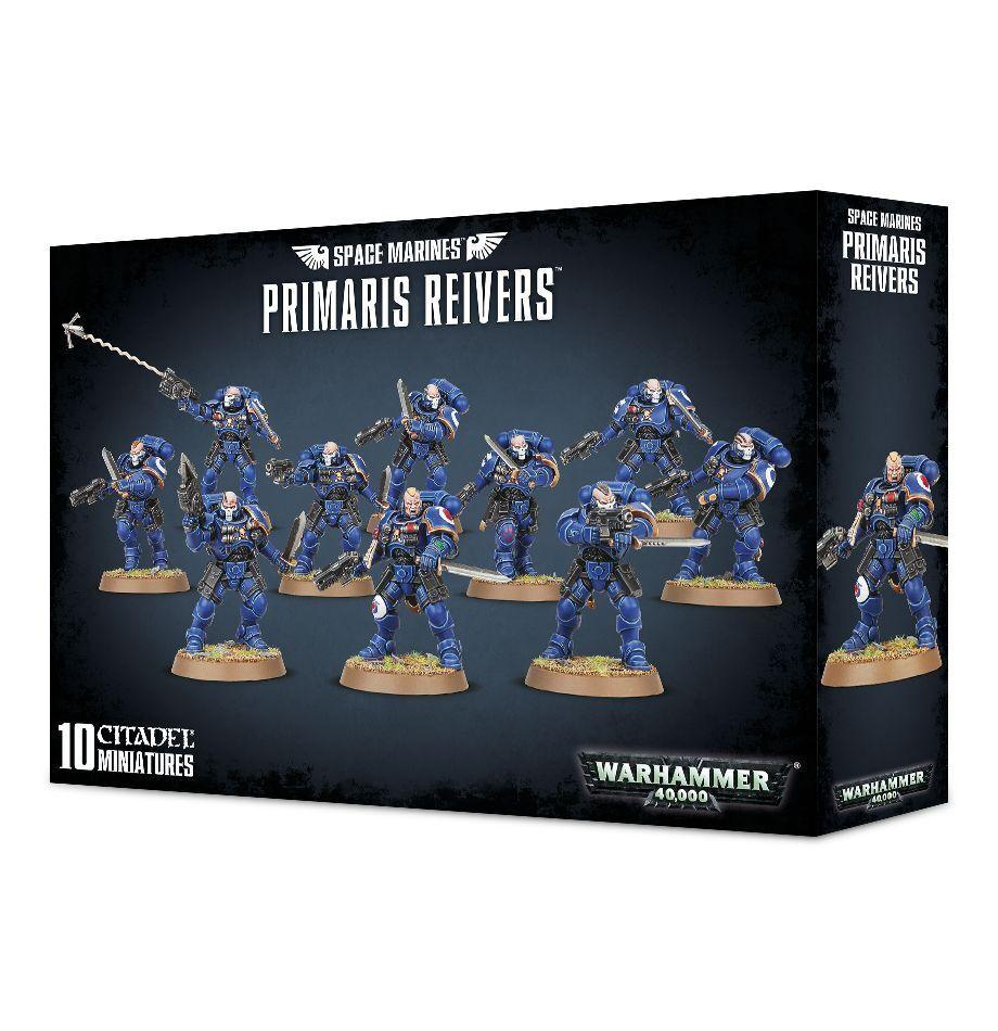 sin mínimo Warhammer 40K Space Marines Primaris Reivers Reivers Reivers plastic New  Sin impuestos