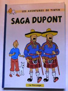 PASTICHE-TINTIN-SAGA-DUPONT-Cartonne-32-pages-couleurs-Hors-Commerce