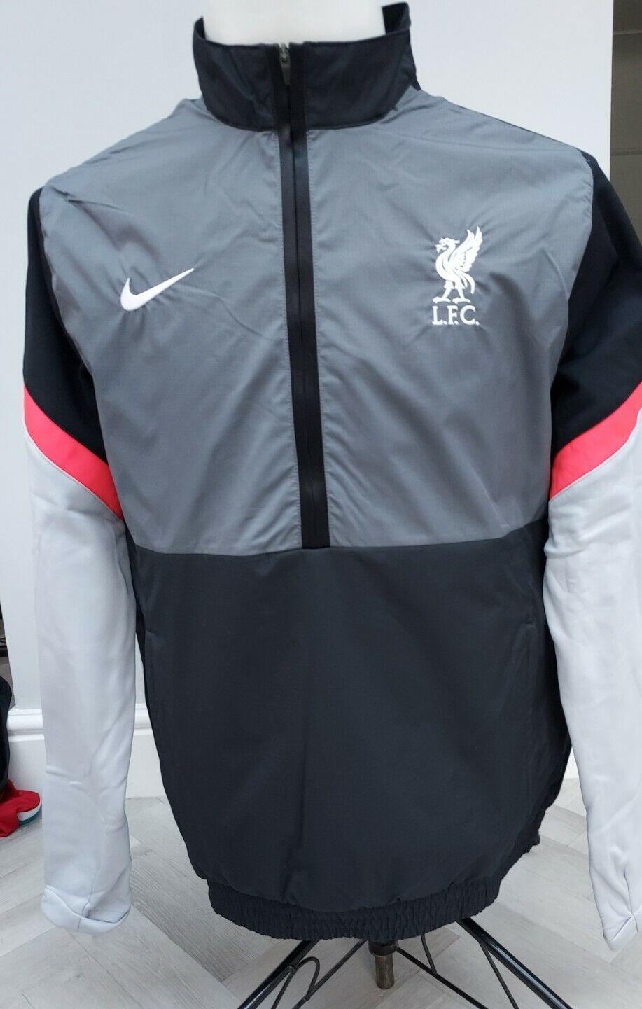 GENUINE Liverpool FC NIKE training JACKET / COAT RRP BNWT / SUPERB M